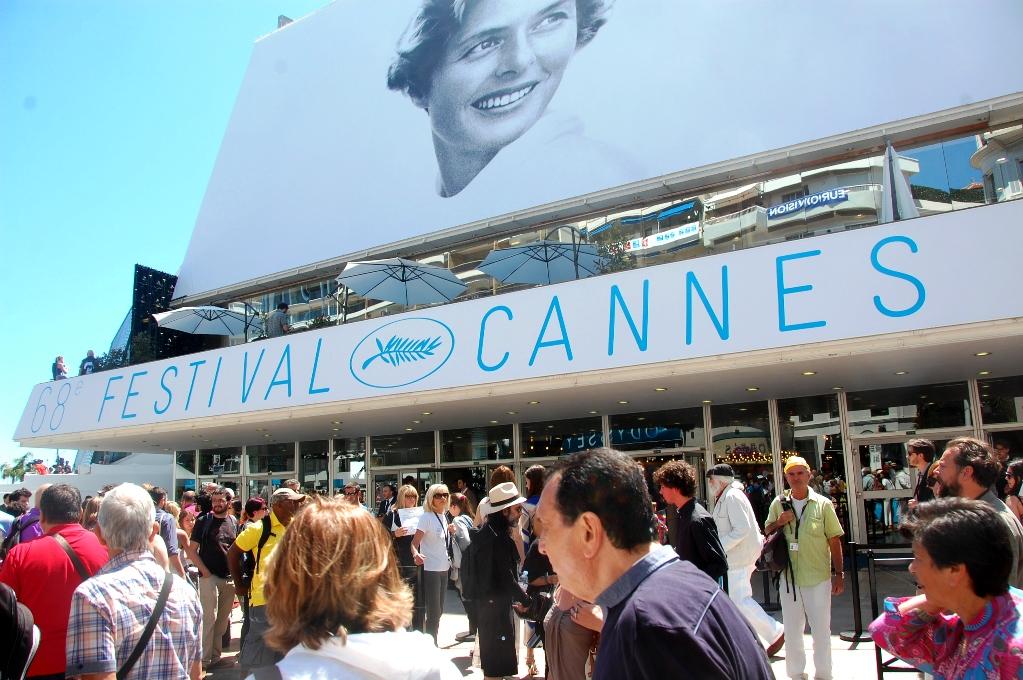 Ingrid Bergman är affischflicka på filmfestivalen i Cannes i år