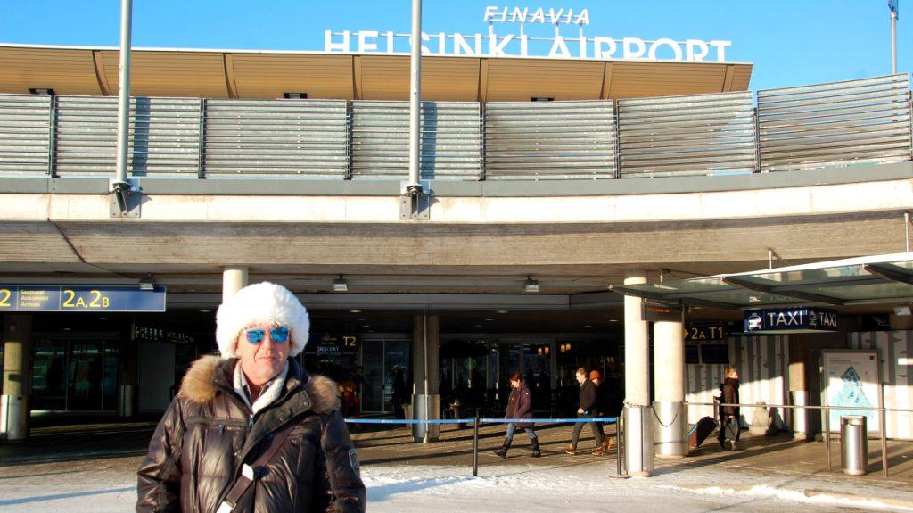 Helsingfors flygplats, på väg mot Åbo skärgård