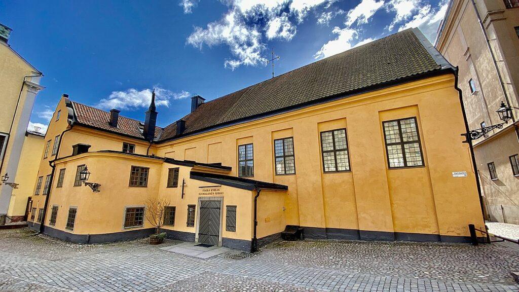 Sevärdheter i Gamla stan - Finska kyrkan