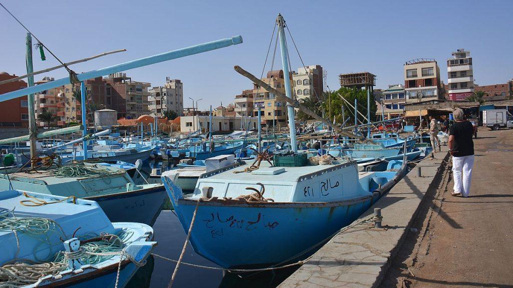Hurghadas fiskehamn