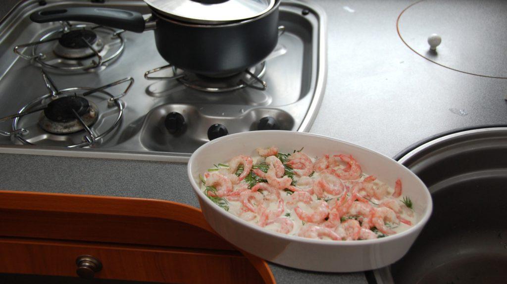 Recept på fisk - fiskgratäng