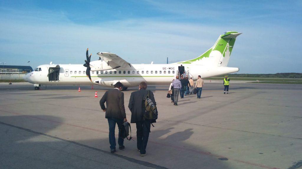 Flyg tll Visby