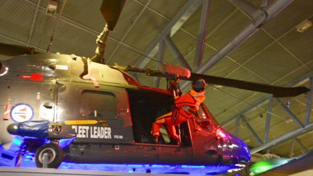 Flygmuseum Bodö helikopter