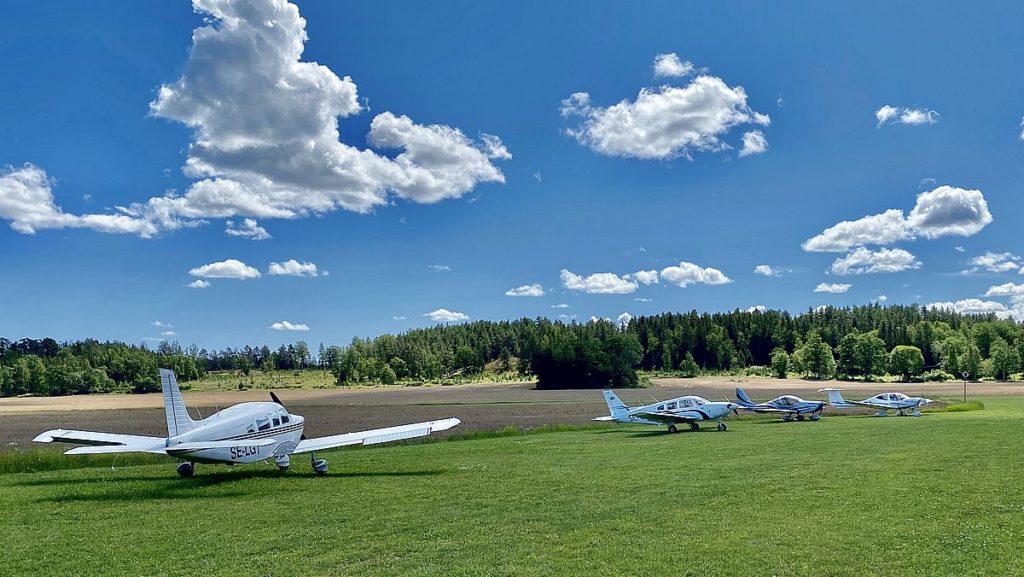Flygplats i Stegeborg