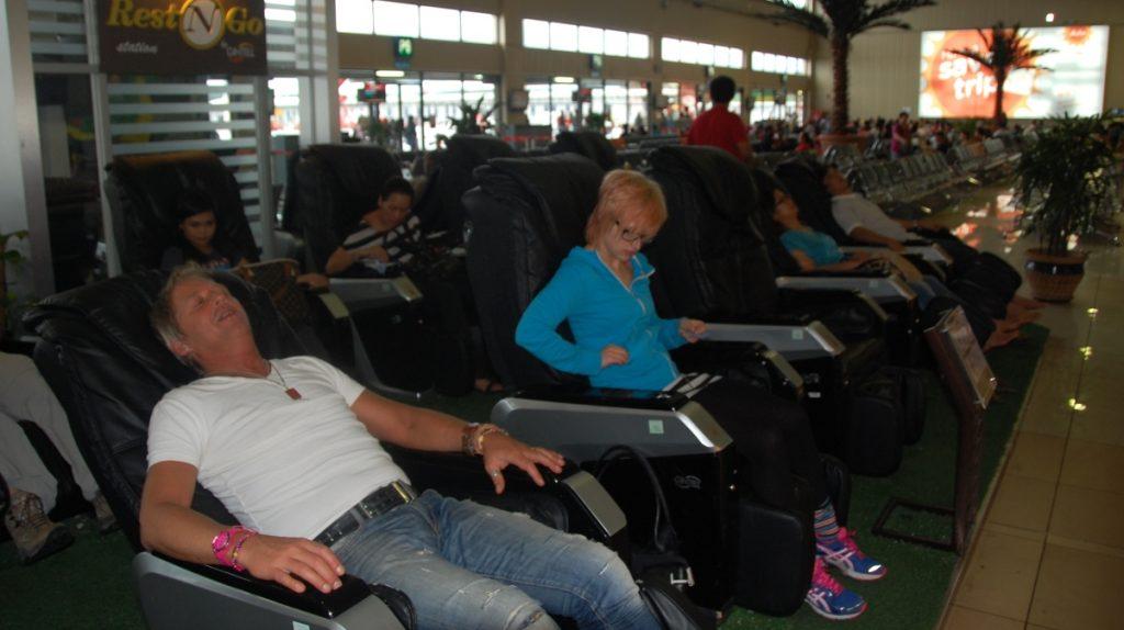 Flygplats massagestolar