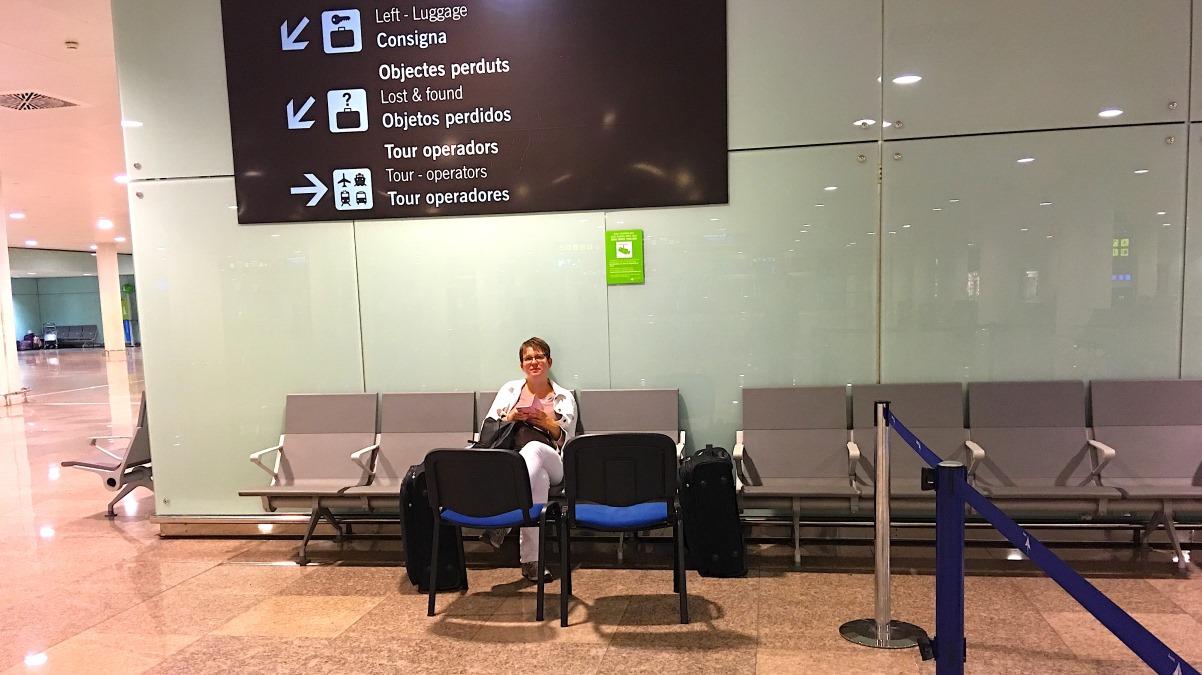 Flygplatsen i Barcelona
