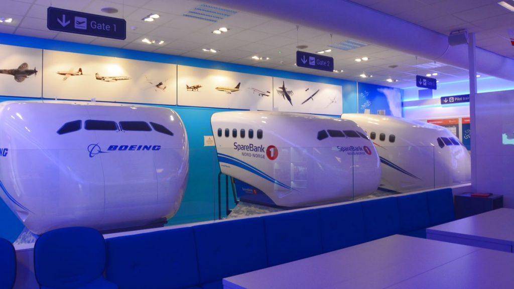 Flygsimulatorer i Bodö