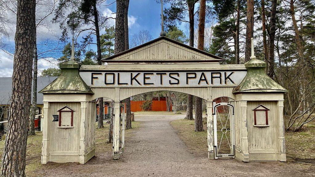Folkets park på Vallby friluftsmuseum