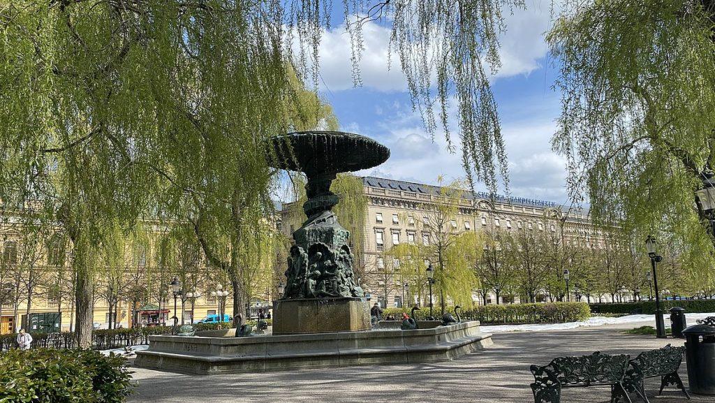 Molins fontän i Kungsträdgården i Stockholm