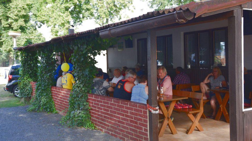 Fotboll på camping i Tjeckien