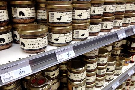 I franska mataffärer