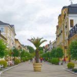 Kurorten Frantiskovy Lazne i Tjeckien – den gula staden