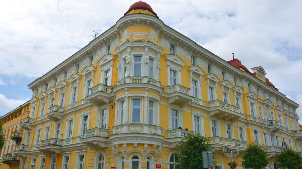 Frantiskovy Lazne Tjeckien - den gula staden