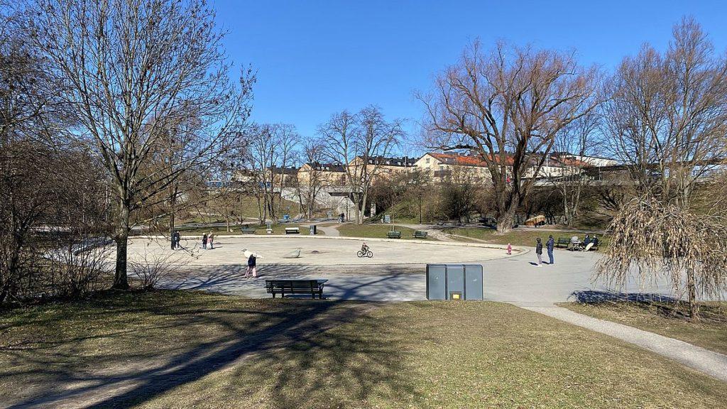 Parker på Kungsholmen - Fredhällsparken
