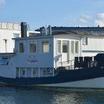 Hemma i husbåten – efter två månader i husbilen