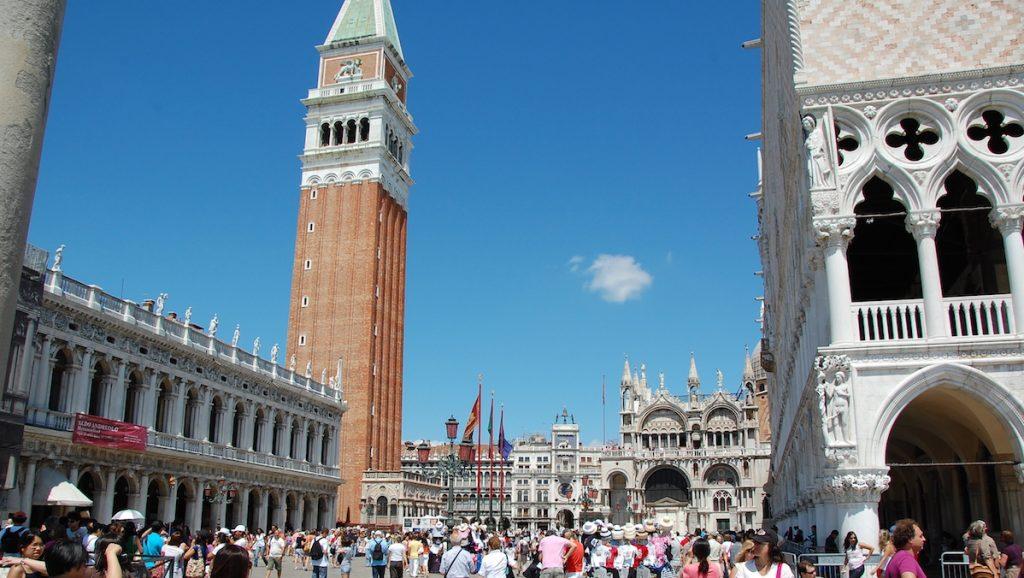 Italien, Venedig, Markusplatsen