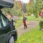 På rull med husbilen – för att hjälpa till med flytt