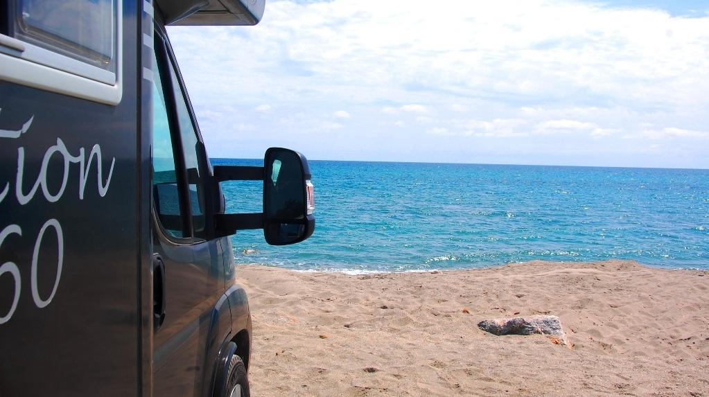 Med husbil på Korsika