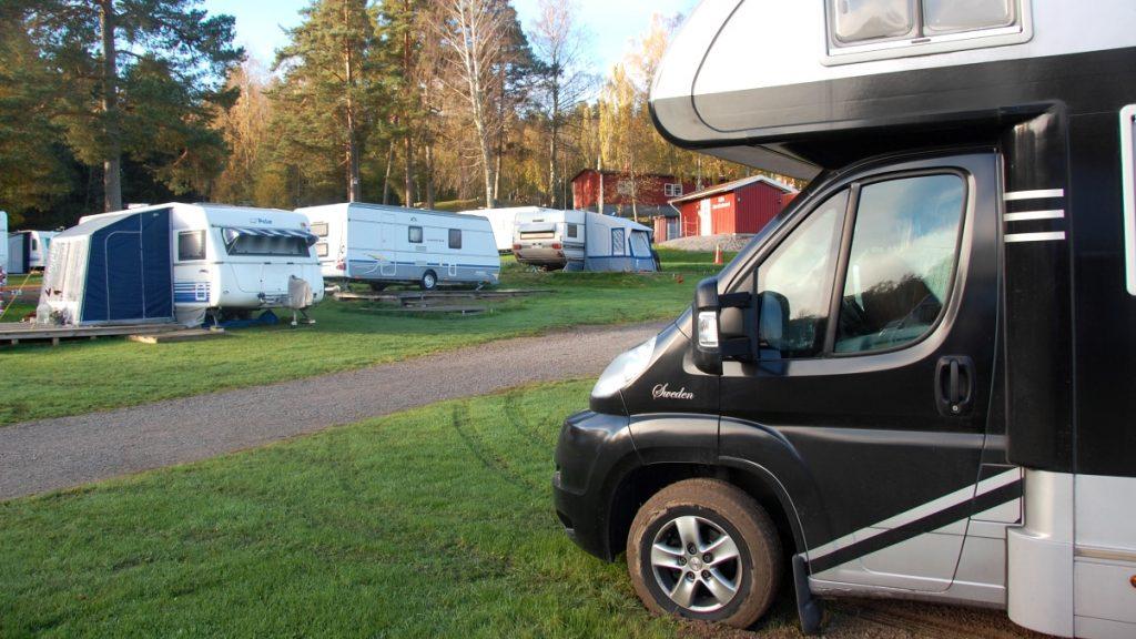 Husbilshelg i Malmköping