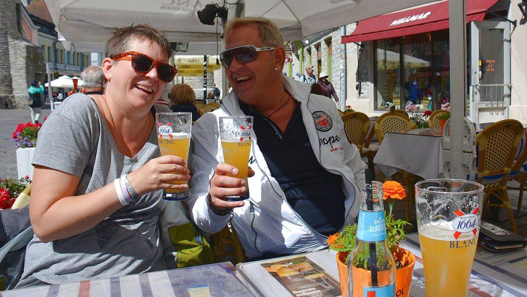 En öl i Tallinn