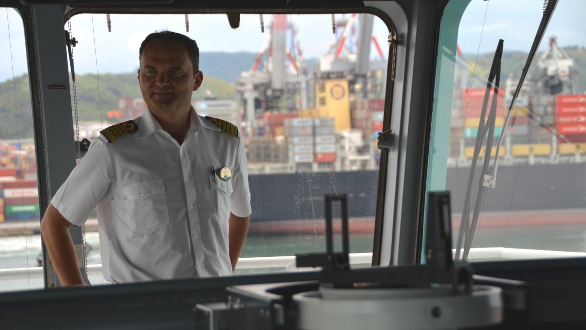Freedom of the Seas kapten