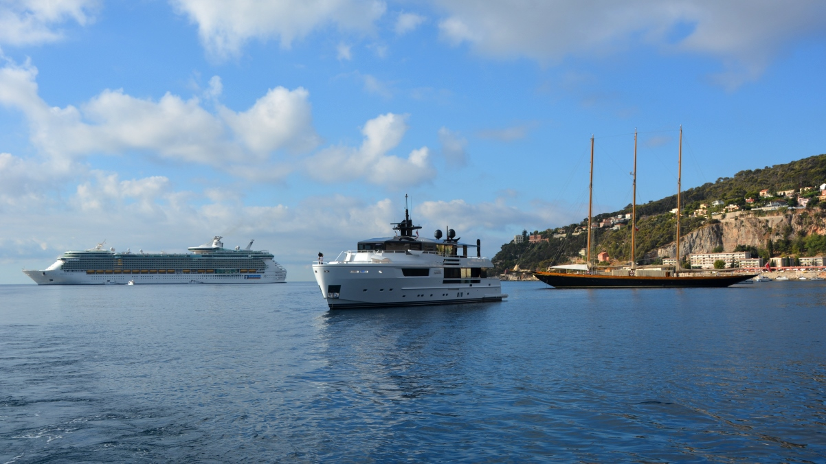Freedom of the seas Villefranche