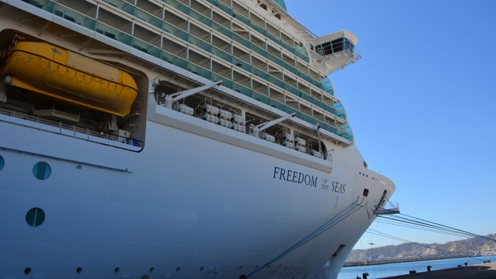 Freedom of the seas kryssning