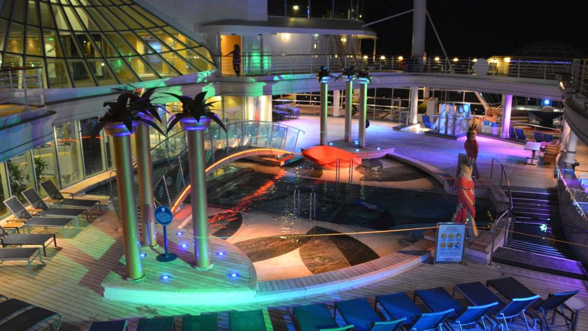 Freedom of the seas pooler