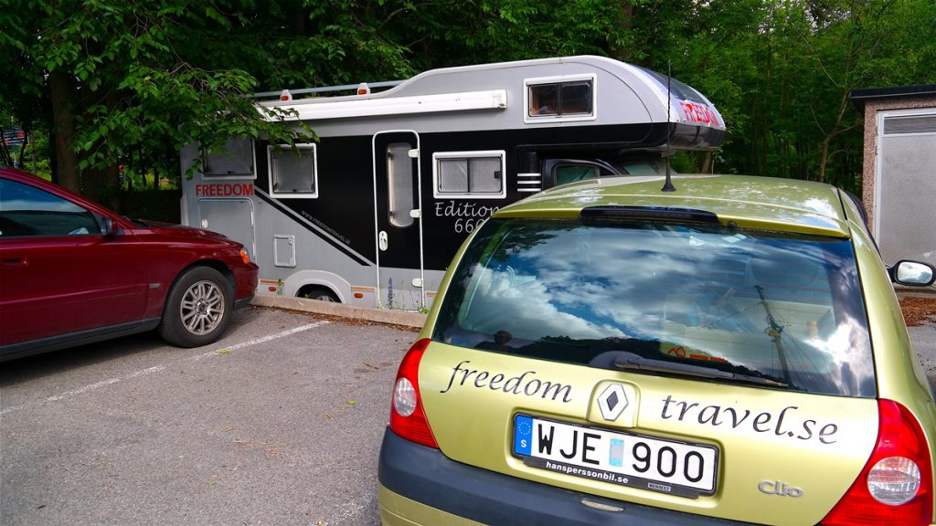 FREEDOM står på parkeringen... men snart så!