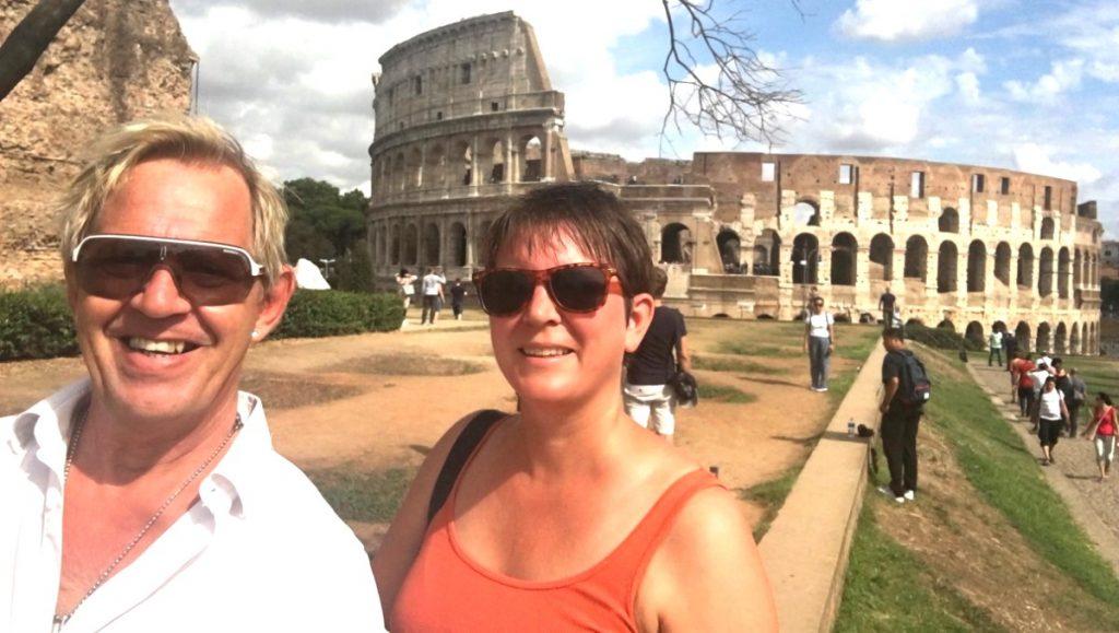 Att besöka Colosseum