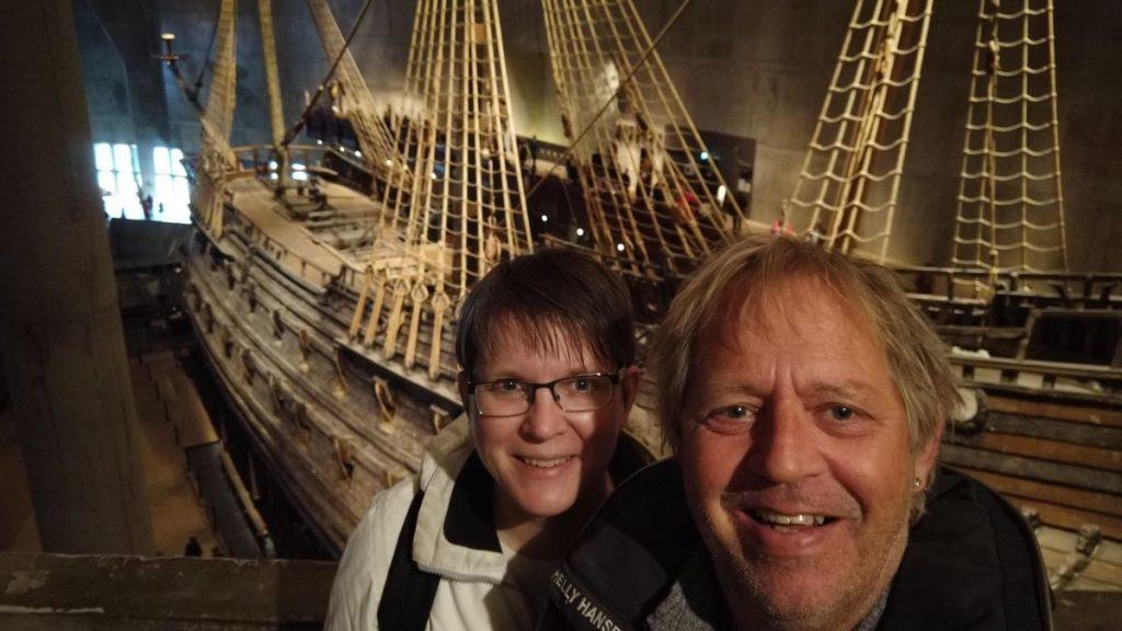 Att besöka Vasamuseet i Stockholm
