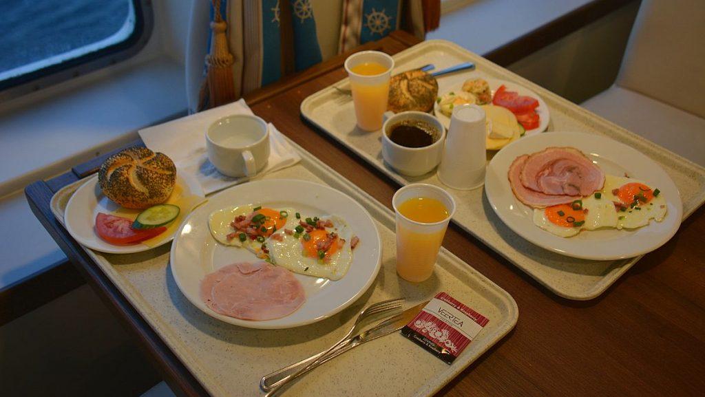 Frukost på Polferries Ystad-Swinoujscie