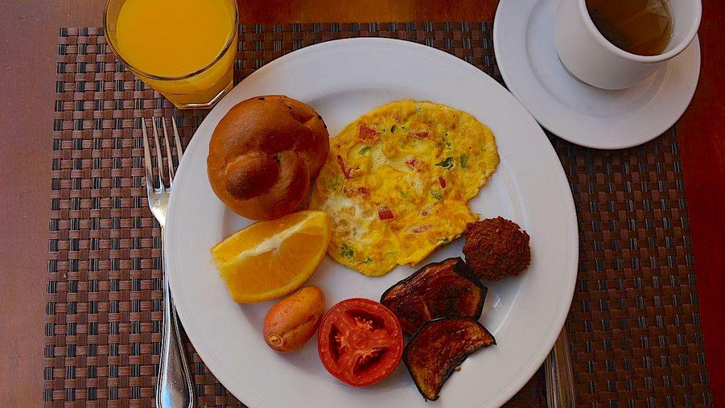 Mat i Egypten - frukost