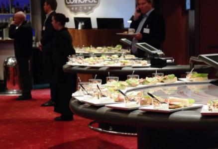Pressfrukost på Casino Cosmopol