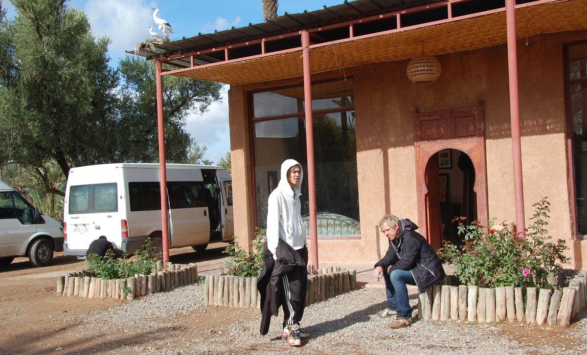 Fyrhjuling Marocko