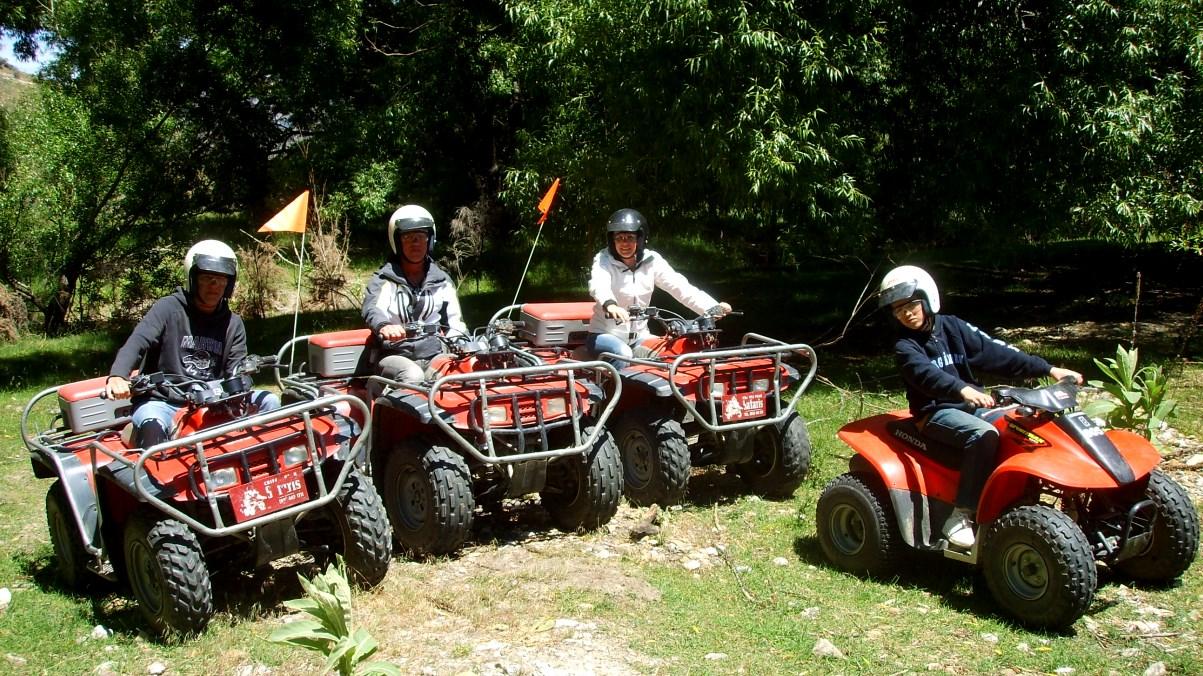 Fyrhjuling Nya Zeeland