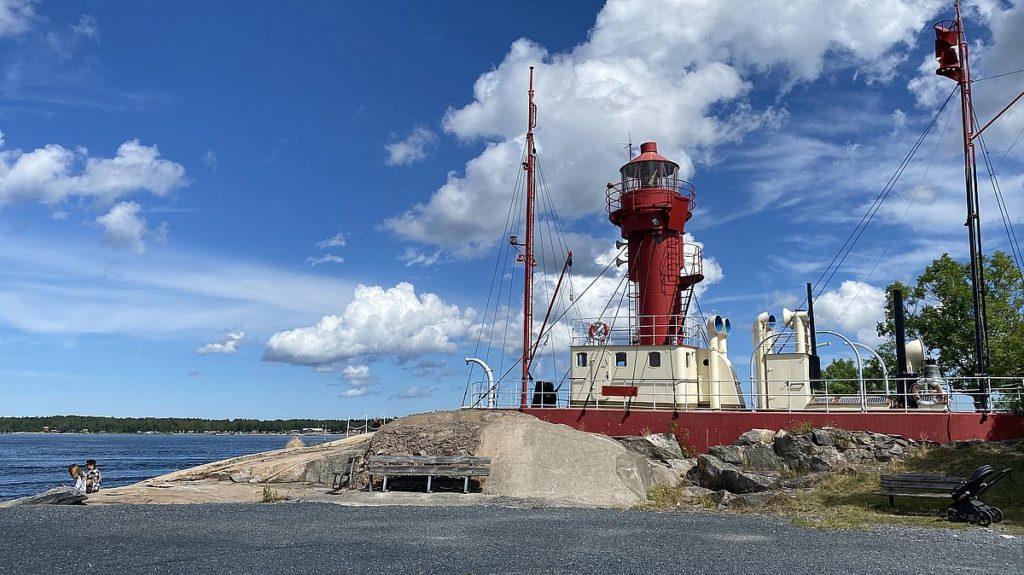 Fyrskeppet Västra Banken i Öregrund