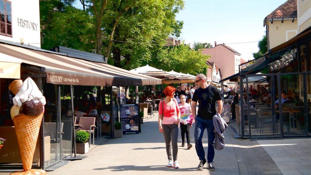 Zagreb i Kroatien