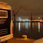 Göteborg by night – parkering vid Skeppsbron