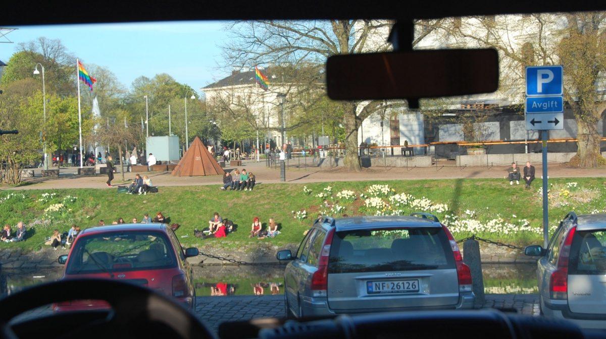 Göteborg med husbil