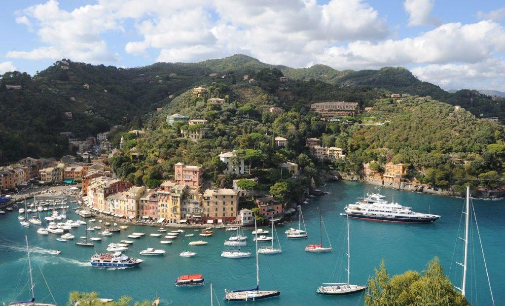 Portofino i Ligurien, foto: Italiens turistbyrå