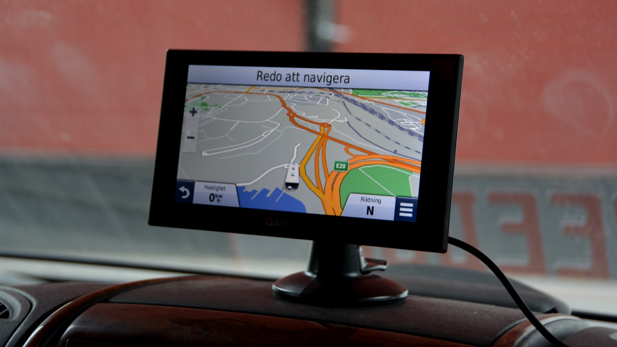 Ny GPS i husbilen