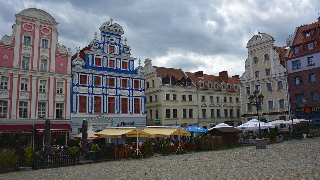 Göra i Szczecin? Strosa i Gamla stan