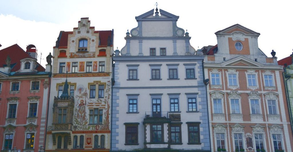 Gamla stan Tjeckien