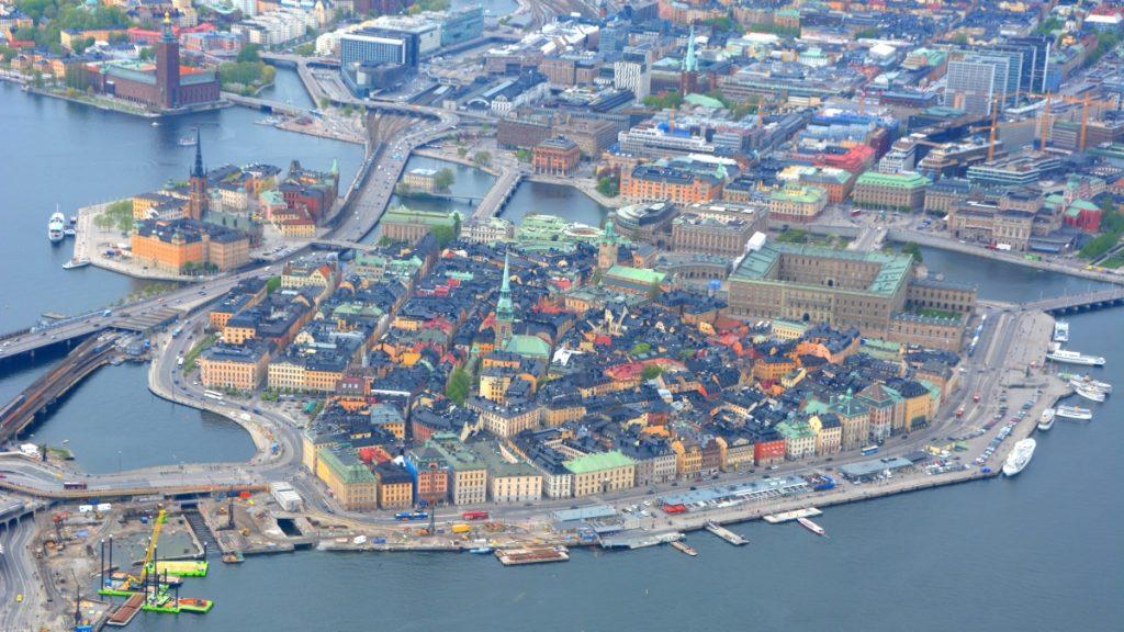 Gamla stan från ovan