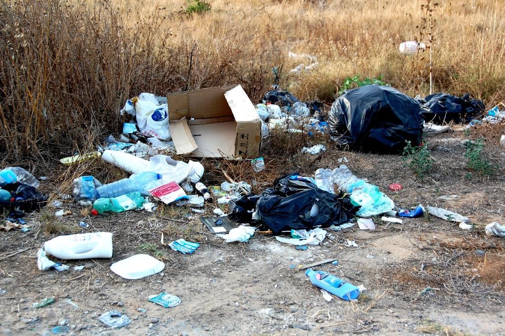 Sopor ligger strösslade över större delen av Sicilien, tyvärr