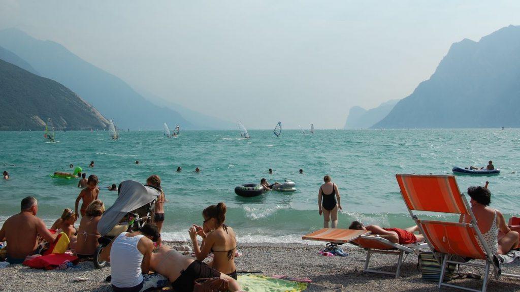 Gardasjön Riva del Garda