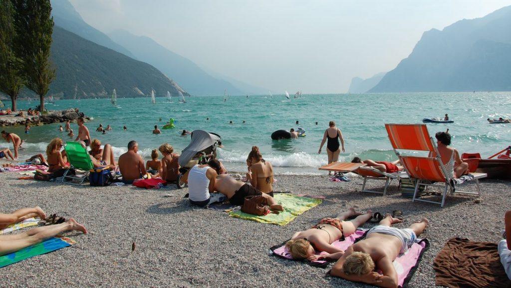 Gardasjön i Italien, Riva del Garda