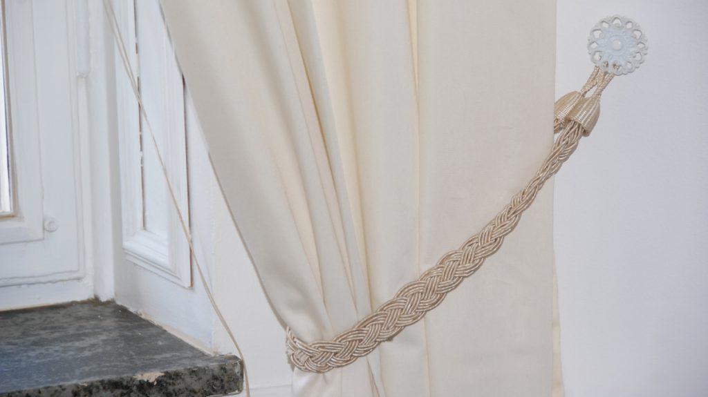 Vi bytte till ljusare gardiner
