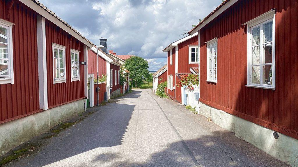 Trähus i Öregrund